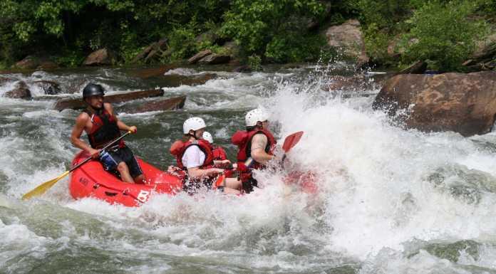 rafting arachthos