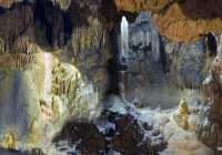 The cavern Agia Sophia in Kythera
