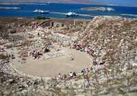 Ancient Greek theater Delos