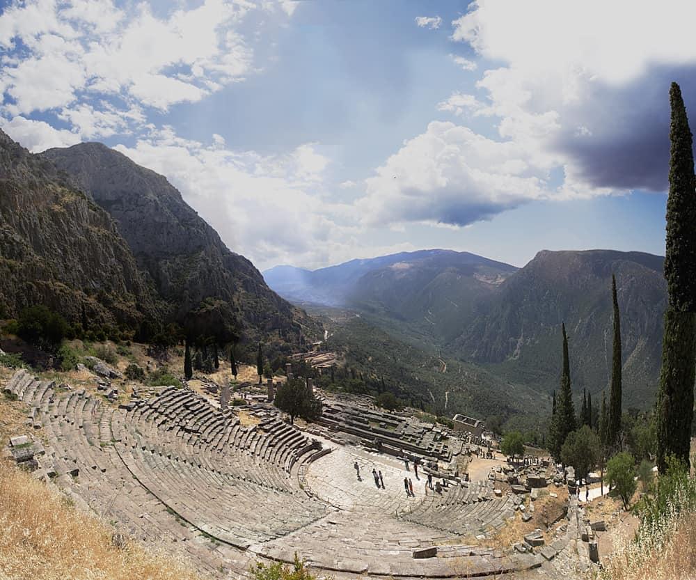 Ancient Greek theater Delphi