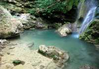 Waterfall at Mylopotamos Kythera