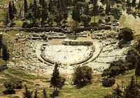Ancient Greek theater of Dionysus in Athens