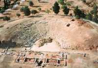 Ancient Greek theater Eretria