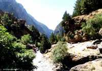 Hiking in Samaria Gorge, Crete