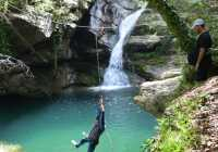 Canyoning in Mount Kissavos