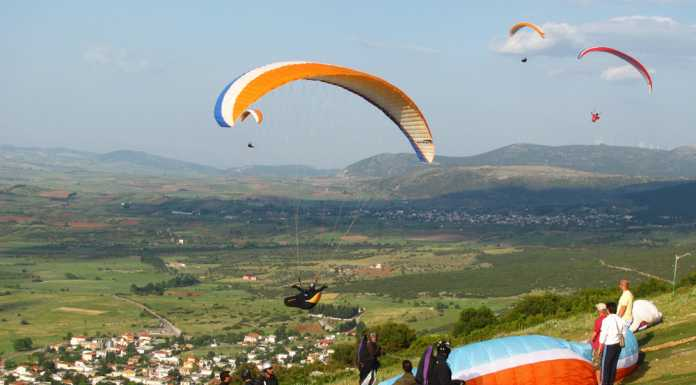 paragliding greece