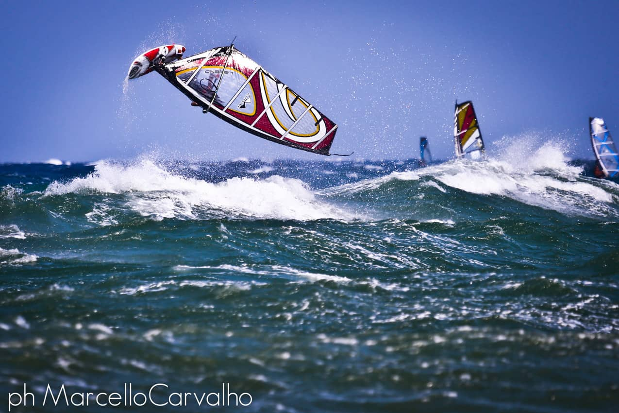Windsurfing Greece: Jibing, tacking, riding the wind