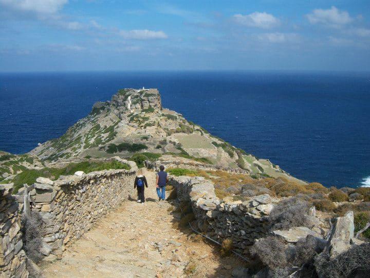 hiking amorgos