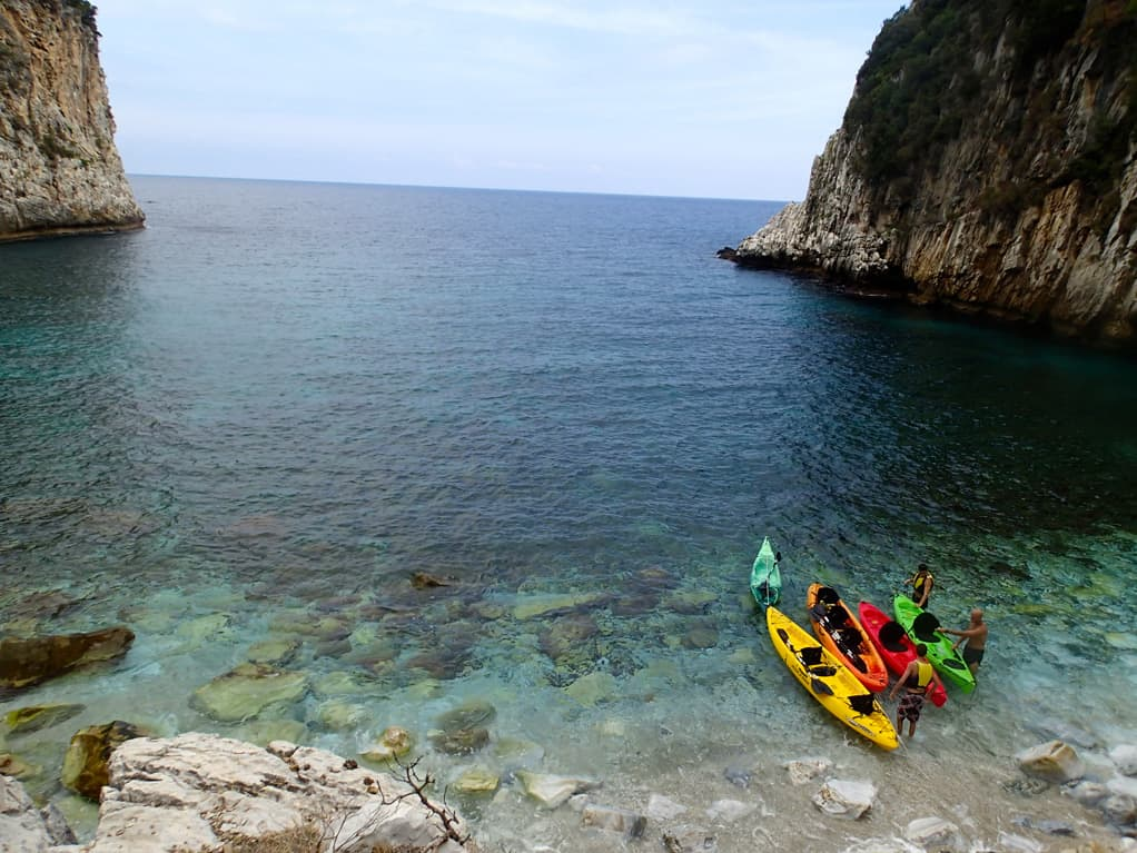 Sea Kayak Pelion Greece – Damouchari – AGreekAdventure World