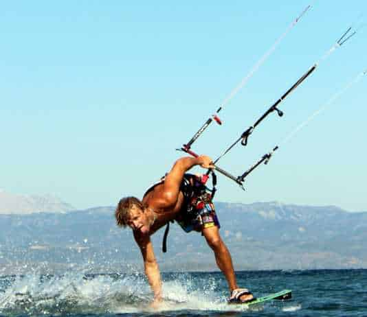 kiteboarding amvrakikos