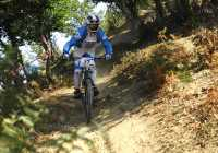 mountain bike in xanthi north greece