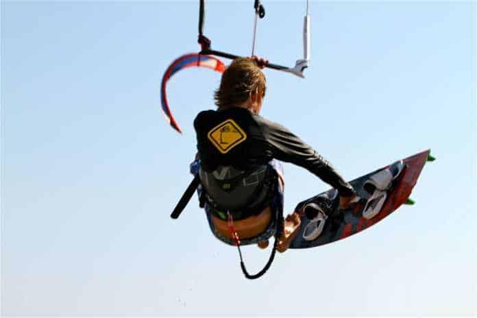 paros kiteboard