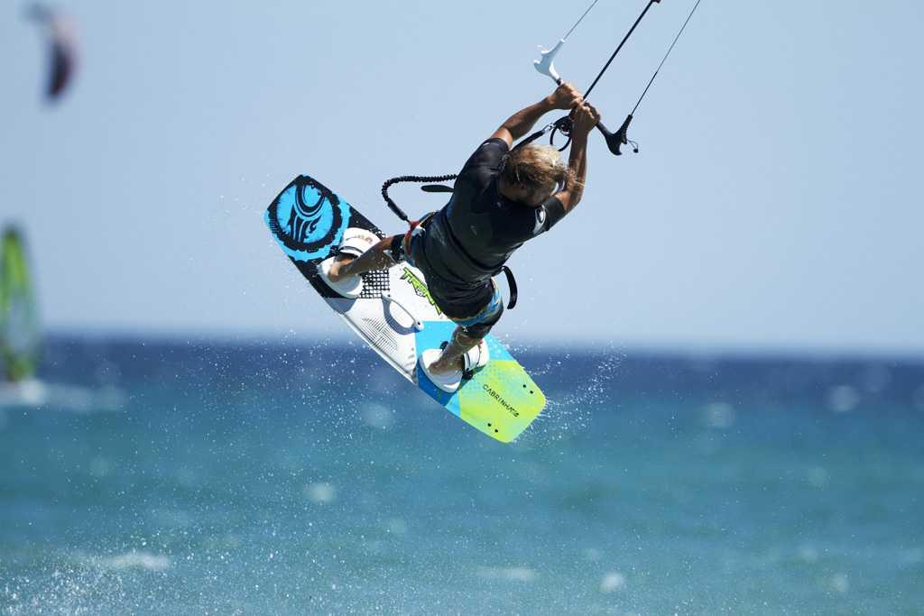 Keros Lemnos Greece Kitesurfing Windsurfing
