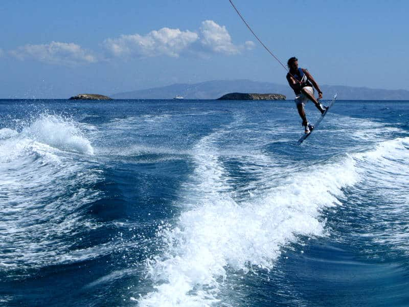 Water Sports Paros Greece Awake