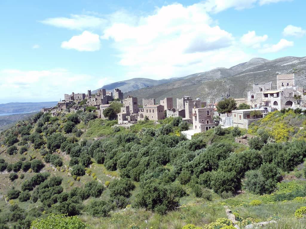 Vathia Mani Greece Traditional Peloponnese Fortress