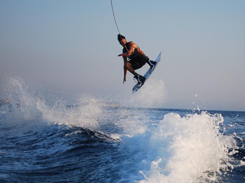 Water Ski Behind Yamaha Boat