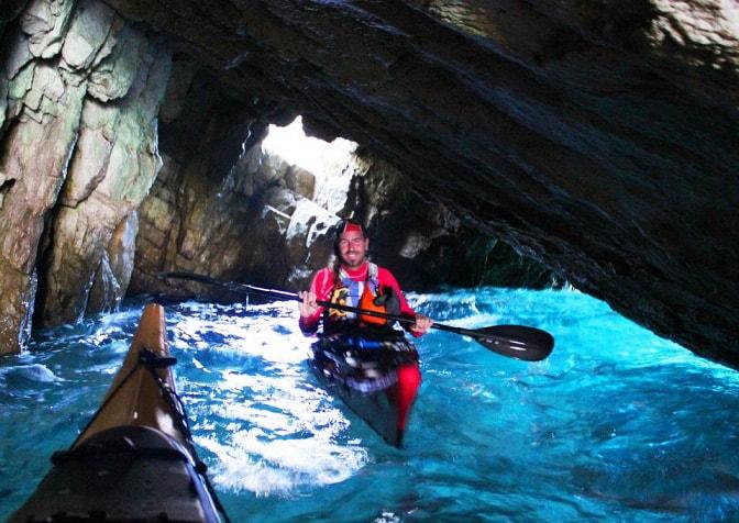 sea kayaking kefalonia - Greek Kayaking Tours