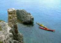 sea kayaking kefalonia