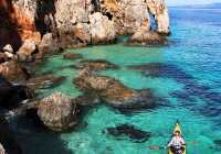 sea kayaking kefalonia