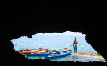Sea Kayaking Messinia - Greek Kayaking Tours