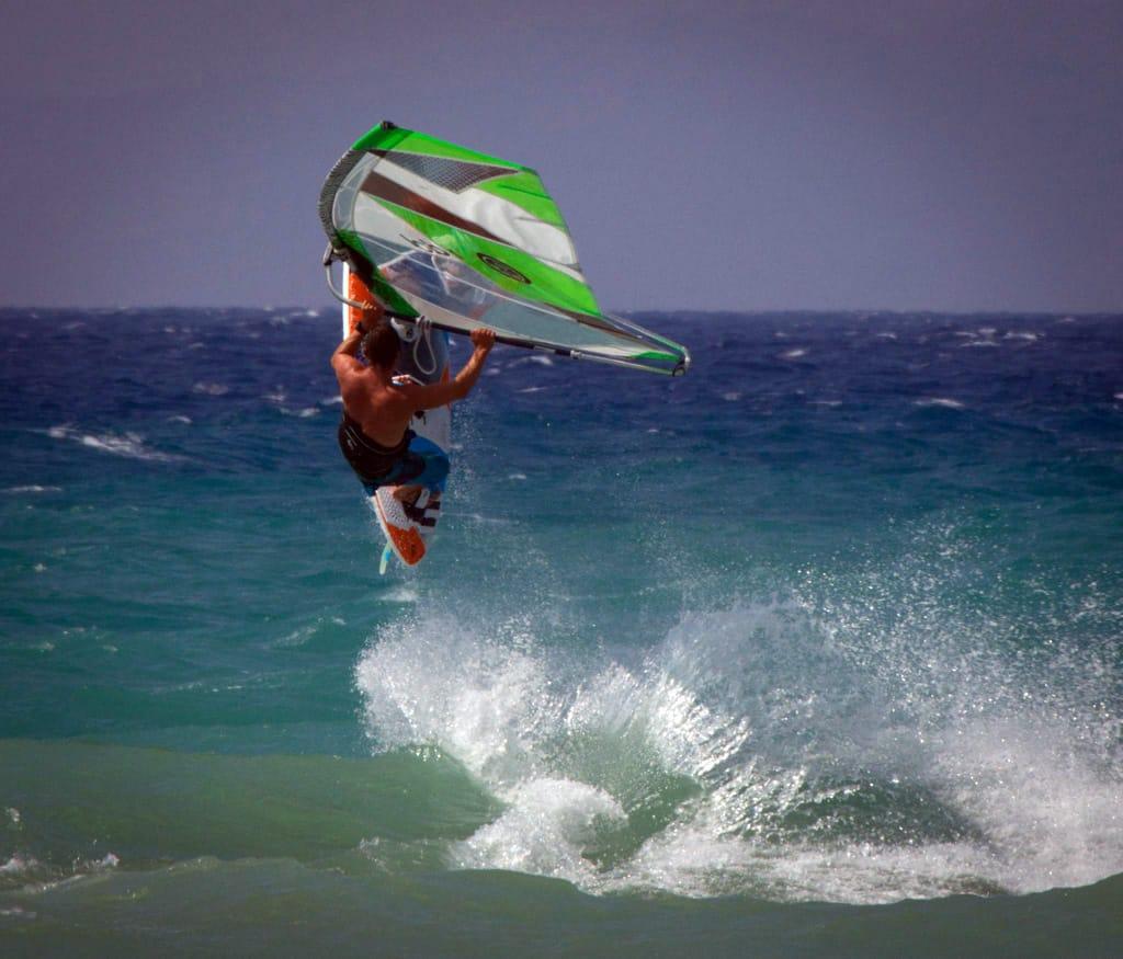 Windsurfing Rhodes