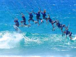 Kitesurfing Skafidia