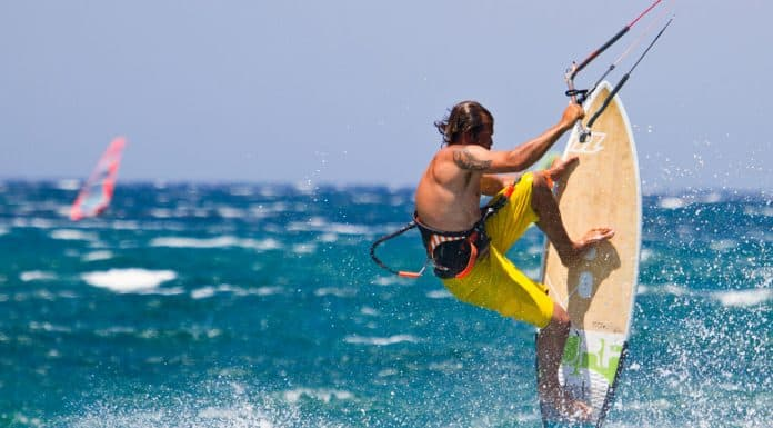 Kite Surfing Mykonos