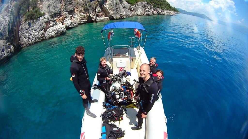 Scuba Diving Lefkada Greece