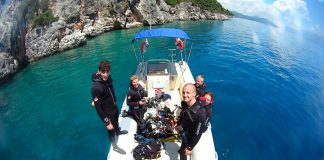 Scuba Diving Lefkada Greece