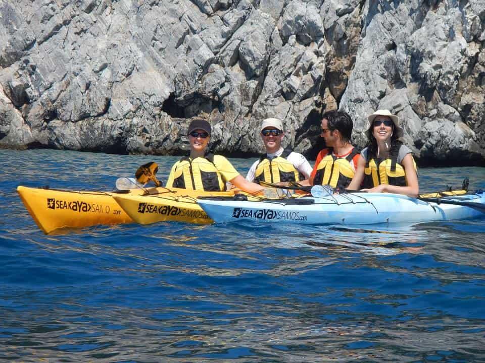 Sea Kayak Samos