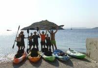 sea kayak zante