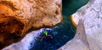 Canyoning with Mountain Escapes in Kallithea, Corinthia
