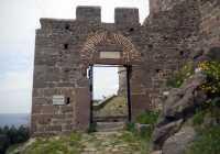 Lesvos Molyvos Castle