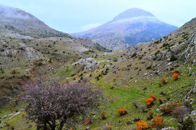 Ktenias Mountain Hiking
