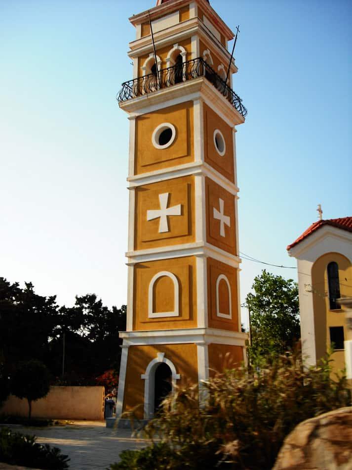 Town church belfry