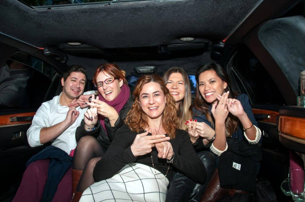 Travel Bloggers Greece Limo ride
