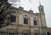 Lyon - External of Notre Dame de Fourviere
