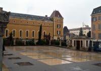 Lyon - Square of Notre Dame de Fourviere