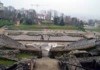 Lyon French Roman Theater