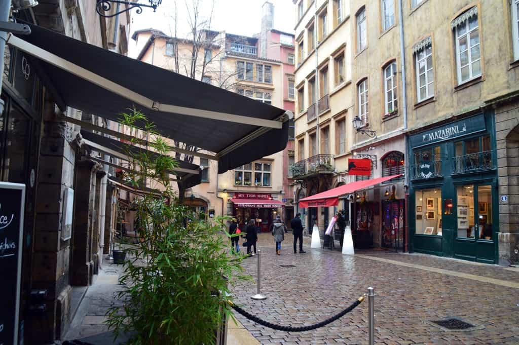 Around the city of Lyon