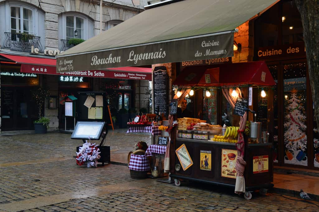 Another crepes stand in Lyon