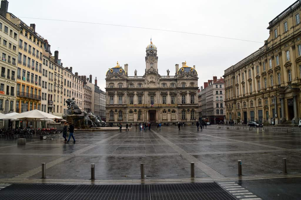 Around the city of Lyon