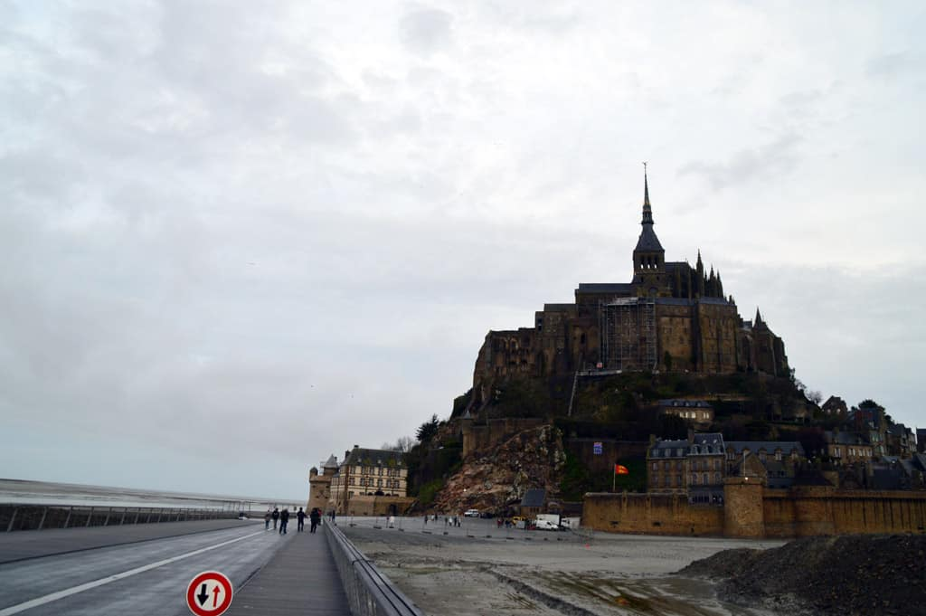 Mont Saint Michel from far