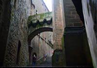 Mont Saint Michel Abbey entrance