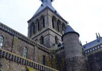 Mont Saint Michel Abbey entrance