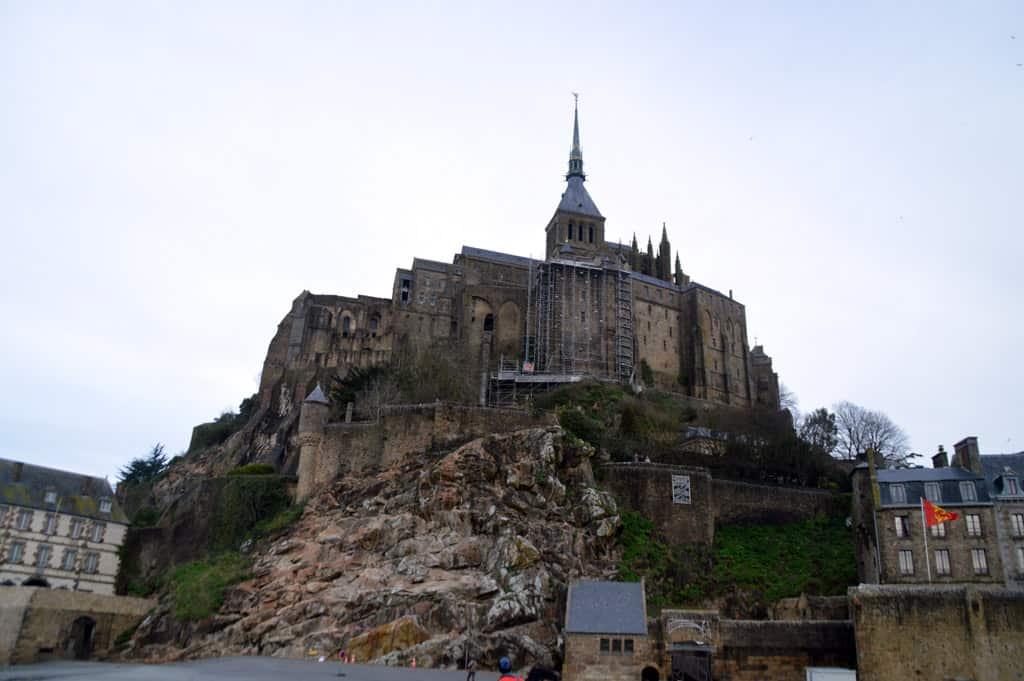 Mont Saint Michel external views
