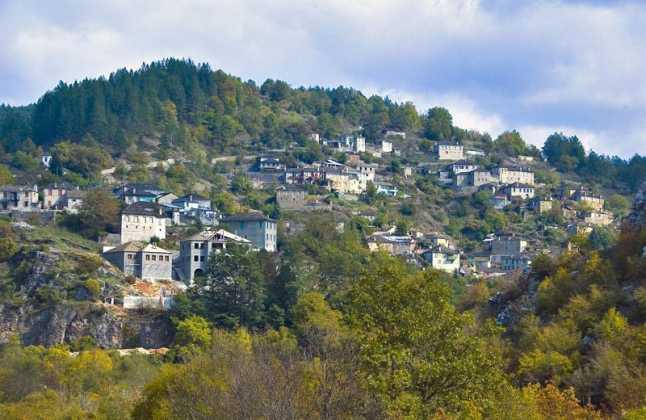 Kipi village Zagoria