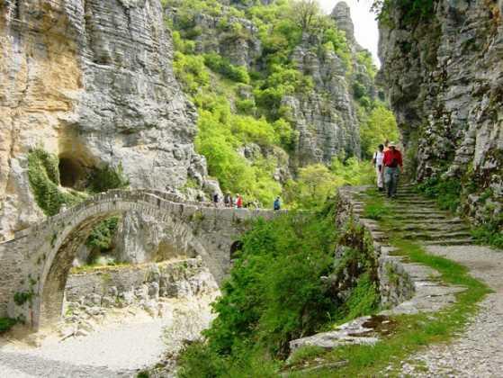 Vitsa stairs Zagoria