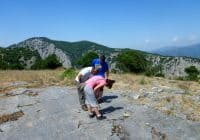 Hiking the crossing of Alexander the Great
