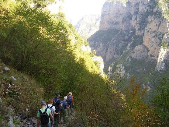 Desceding Vikos Gorge